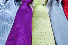 mężczyzna krawaty s Obrazy Stock