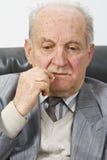 mężczyzna lekarstwa starszy zabranie Zdjęcie Stock