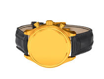Mężczyzna luksusowy złocisty wristwatch zdjęcia stock