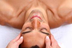 Mężczyzna masaż Zdjęcie Royalty Free