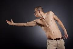 mężczyzna mięśniowy Zdjęcie Royalty Free