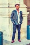 Mężczyzna Miastowa moda na ulicie w Nowy Jork Zdjęcie Royalty Free