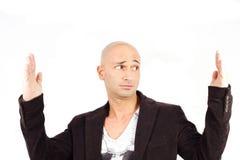 Mężczyzna mierzyć Zdjęcie Stock