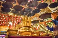 Mężczyzna Mo świątynia, Fotografia Royalty Free