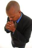 mężczyzna modlenie obrazy stock