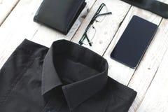 Mężczyzna mody i trendów opóźneni akcesoria Zdjęcie Royalty Free