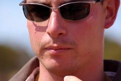 mężczyzna Murray park narodowy zmierzch fotografia royalty free