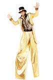 Mężczyzna na Stilts Obraz Royalty Free