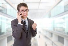 Mężczyzna na telefonie zdjęcia royalty free