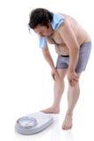 mężczyzna nadwaga Zdjęcia Stock