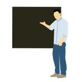 Mężczyzna nauczanie Zdjęcie Stock