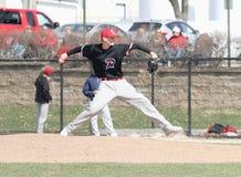 Mężczyzna NCAA baseball Zdjęcie Royalty Free