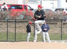 Mężczyzna NCAA baseball Fotografia Royalty Free