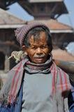 mężczyzna Nepal stara patan bieda Zdjęcia Stock