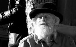 Mężczyzna obsiadanie w Odessa, Ukraina Obrazy Royalty Free