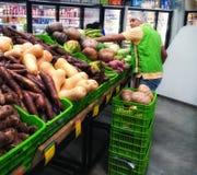 mężczyzna od warzyw obrazy stock
