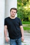 mężczyzna odważny portret fotografia stock