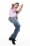 mężczyzna okaleczający Zdjęcie Stock