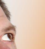 Mężczyzna oko Obrazy Royalty Free