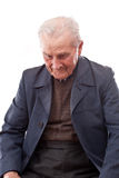 mężczyzna pamiętający senior Zdjęcia Stock