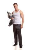 mężczyzna piżamy Zdjęcie Stock