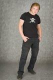 mężczyzna pirata koszulowy symbolics t Obrazy Royalty Free