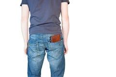 mężczyzna portfel Zdjęcie Stock