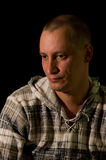 mężczyzna portret Fotografia Royalty Free