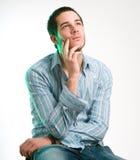 mężczyzna portret Zdjęcia Stock