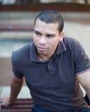 Mężczyzna portret Zdjęcia Royalty Free