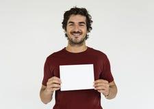 Mężczyzna portreta Rozochocony Uśmiechnięty pojęcie Zdjęcia Stock