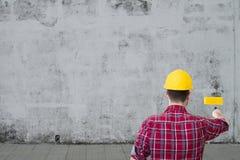 Mężczyzna pracujący obraz Fotografia Stock