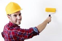Mężczyzna pracujący obraz Zdjęcia Stock