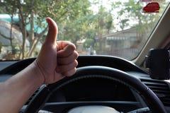 Mężczyzna przedstawienia ręki sygnał Zdjęcie Stock