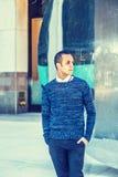 Mężczyzna Przypadkowa moda w Nowy Jork Zdjęcie Stock