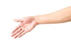 Mężczyzna ręka z krwionośnymi żyłami Fotografia Royalty Free