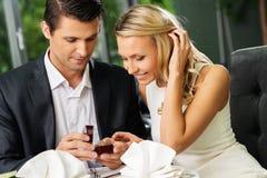 Mężczyzna robić proponuje jego dziewczyna Obraz Royalty Free