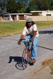 mężczyzna rowerowa jazda Obrazy Stock
