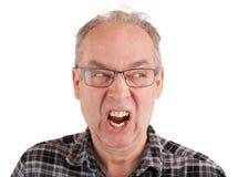 Mężczyzna Rozwściecza o Coś Fotografia Royalty Free