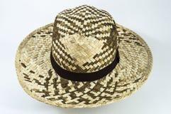 Mężczyzna słomiany kapelusz Obrazy Royalty Free