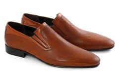 Mężczyzna ` s buty zdjęcia royalty free