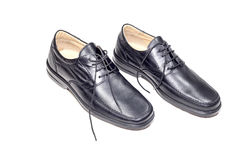 Mężczyzna ` s buty Obraz Stock