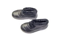 Mężczyzna ` s buty dla chałup Fotografia Royalty Free