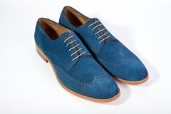 Mężczyzna ` s buty na białym tle Obraz Stock