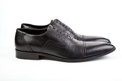 Mężczyzna ` s buty na białym tle Zdjęcie Stock