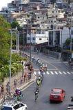 Mężczyzna ` s kolarstwa rajd samochodowy dalej Rio2016 Fotografia Stock