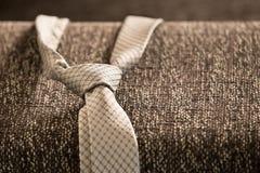 Mężczyzna ` s krawat Zdjęcia Royalty Free