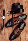 mężczyzna ` s odzieżowy i akcesoria Zdjęcia Stock