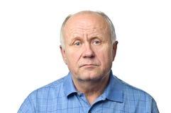 mężczyzna senior Zdjęcia Royalty Free