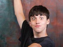 mężczyzna się nastolatek szeroki Zdjęcia Royalty Free